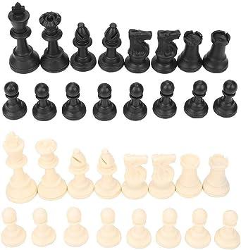 Ljlpropyh Ajedrez para Niños Juego de Mesa portátil de Piezas de ajedrez for niños a Partir de 6 años y Adultos, Viajes de Campamento Deportivo: Amazon.es: Juguetes y juegos