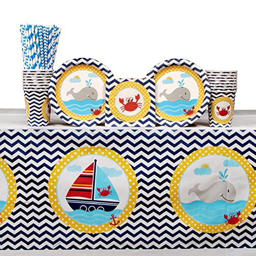 Pirate Baby Shower - Ahoy Matey Party Pack for 16