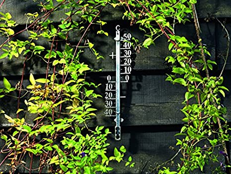 Multi-Colour Gardman Filigree Thermometer Clock