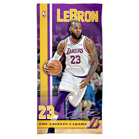 "Oficial NBA Cleveland Cavaliers Toalla de playa LeBron James """