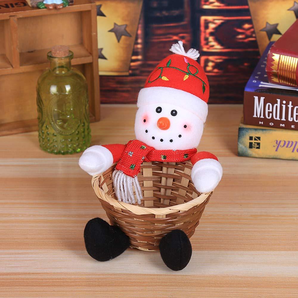 Gaddrt Süßigkeiten Korb Stempel Weihnachten Candy Ablagekorb ...