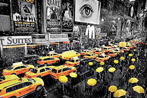 BEYONDTHEWALL® Archive New York City Times Square Yellow Um
