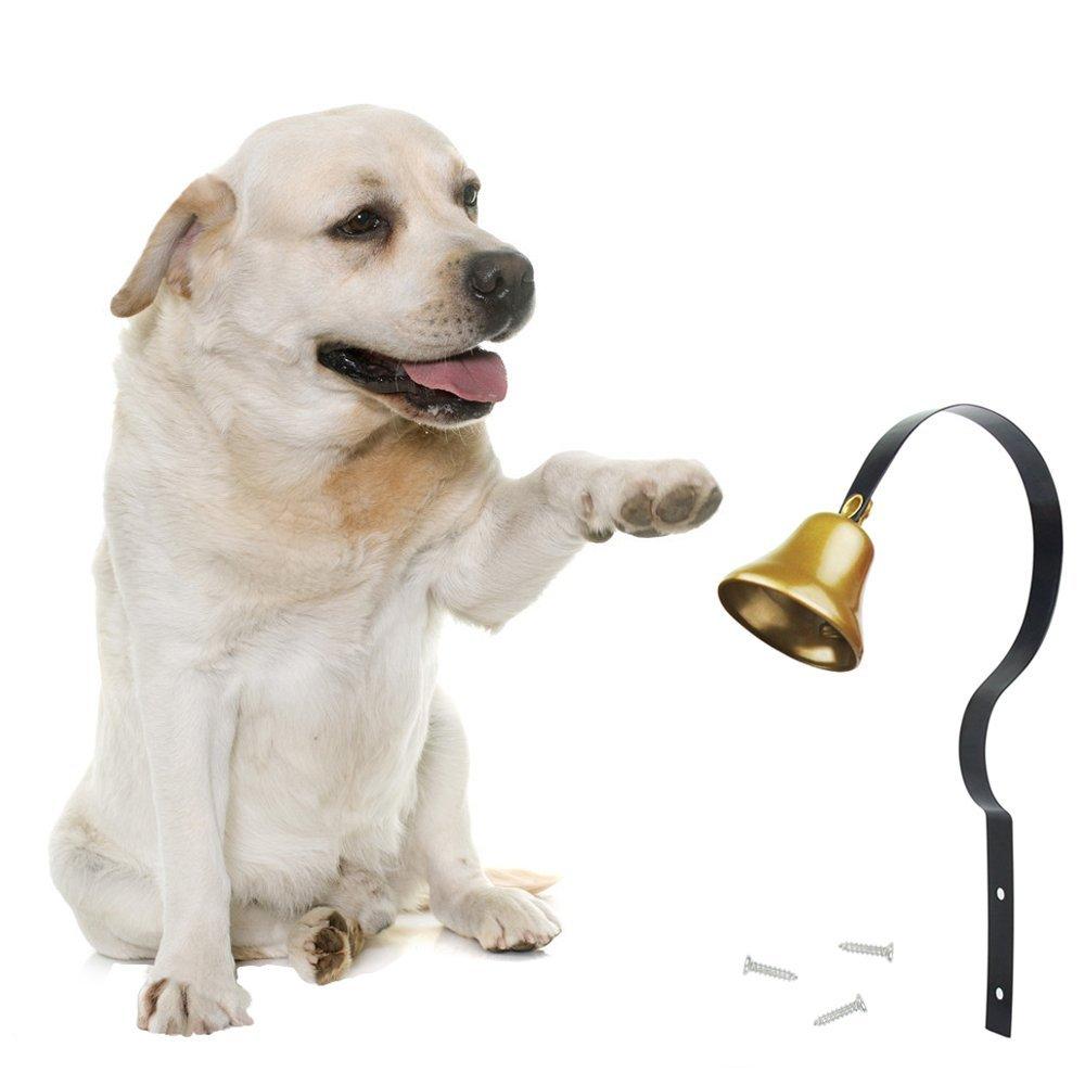 Kyc Dog Training Tinkle Bell Metal Adjustable Pet Hanging Brass