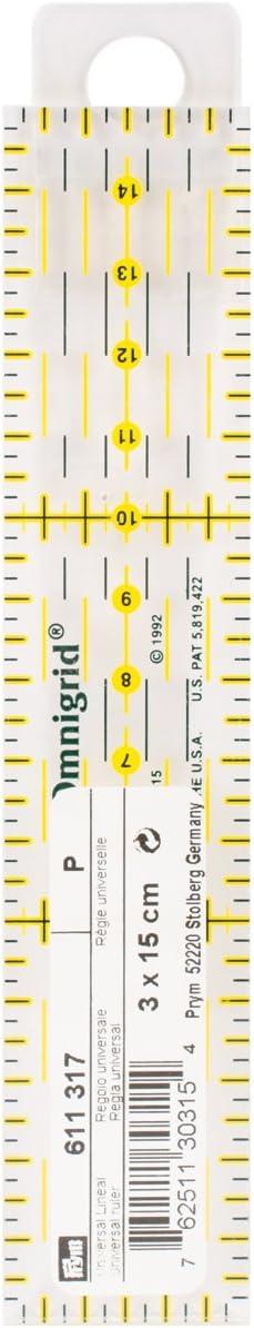 Universal Lineal 3 x 15 cm von Prym Art-Nr 611317