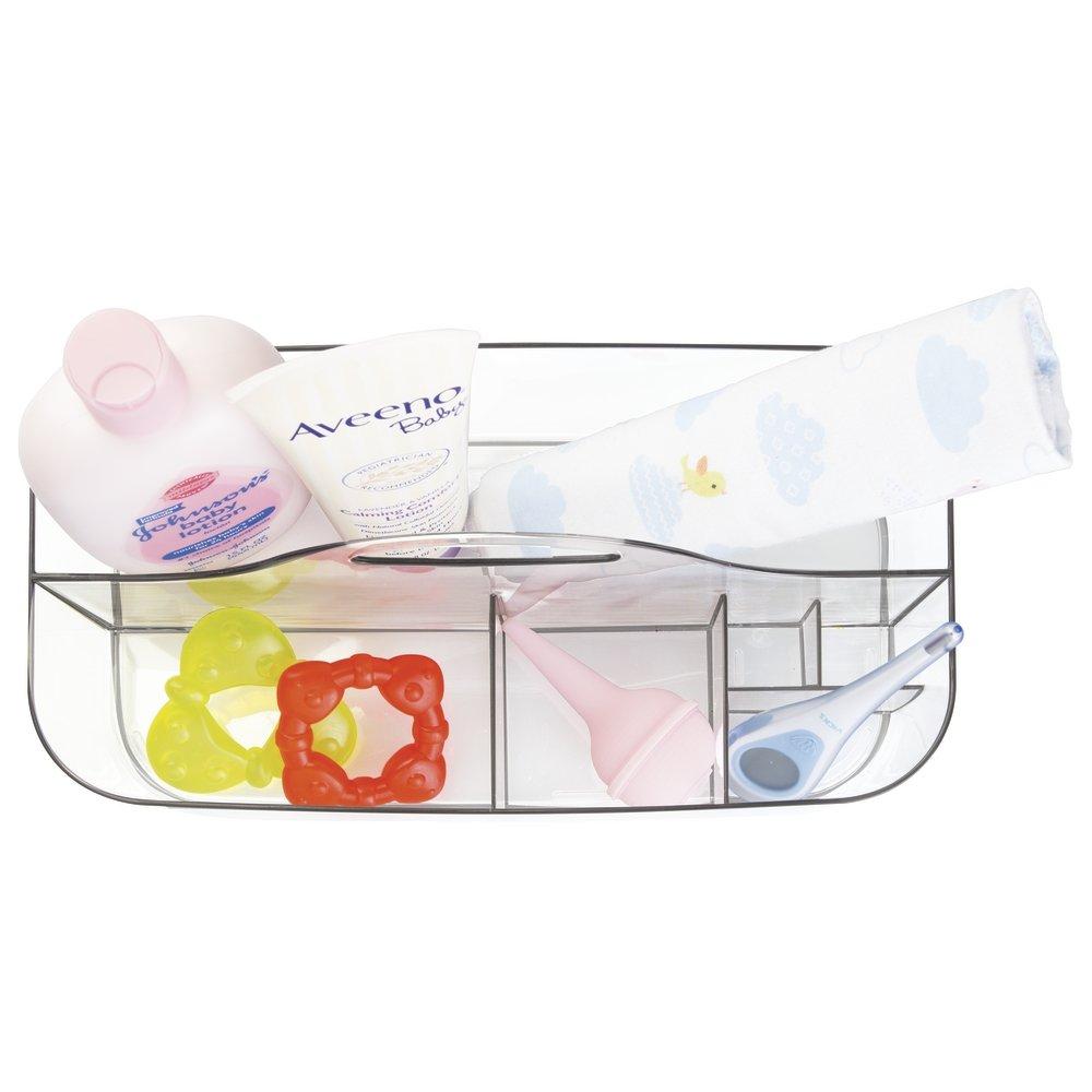 mDesign Boîte de rangement pour accessoires de bébé – Panier ...