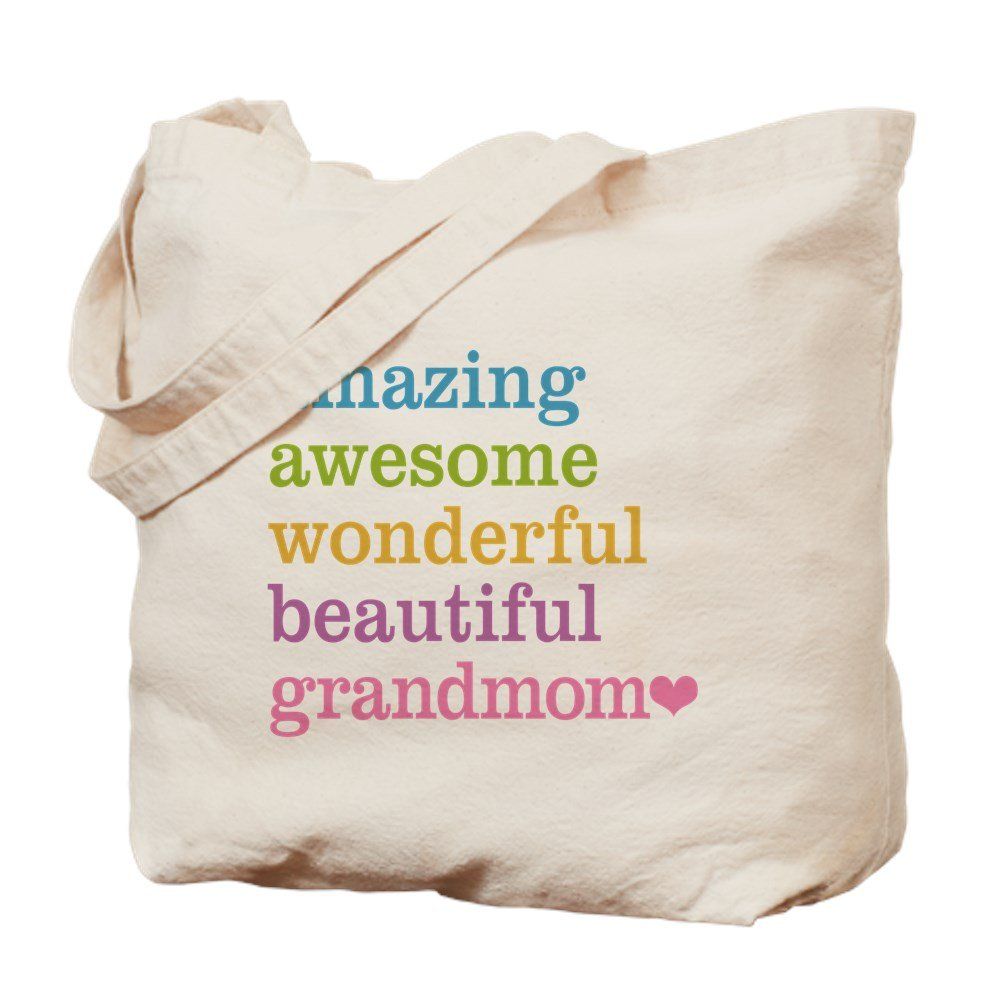 CafePress Tote BagGrandmomAmazing Awesome Tote Bag by CafePress B01CH6U2J8