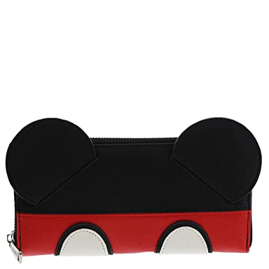 2a865c78acb Loungefly x Mickey Suit Zip Around Wallet at Amazon Men s Clothing store