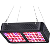LED Grow Light 300W, AEJSLOK Reflector Plant Grow Light Full Spectrum for Indoor Hydroponic Greenhouse Plants Veg and Flower with On/Off Switch