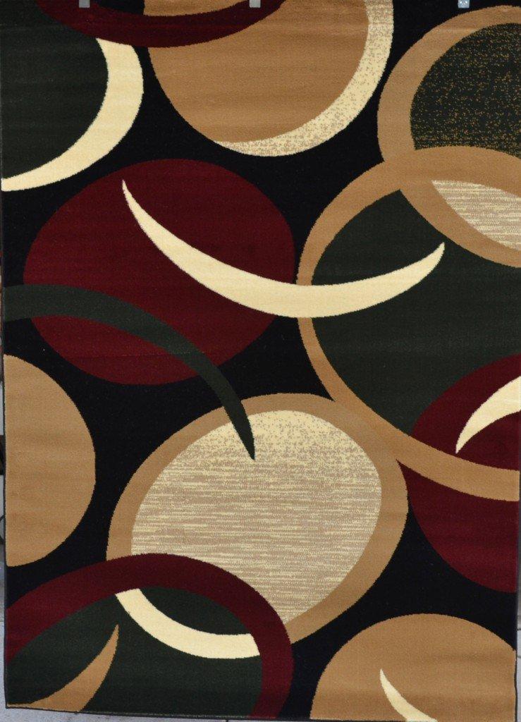 amazon com blue pea green area rug abstract carpet