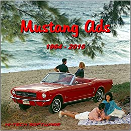 Ford Mustang Advertisements Cd Rom 1964 2018 Car Ads Magazine
