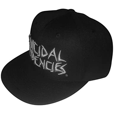 327df7cbd2e4d Suicidal Tendencies Official ST Full Embroidered Custom Snapback Baseball  Hats at Amazon Men s Clothing store