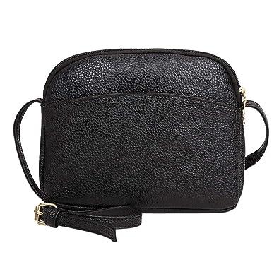 Vintage Women Pure Color Litchi Pattern Leather Crossbody Bagwomens handbags totes shoulder bags bolsos muj#