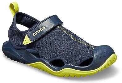 f92df68f9 Crocs Men s SwiftwaterTM Mesh Deck Sandal-Choose Size Color  Amazon ...