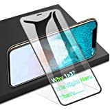 AGVEE Full Coverage 3D Tempered Glass Screen Protector for Apple iPhone 11 Pro Max, XS-Max, Perfect Arc Fit, 9H, PC Edge Corn
