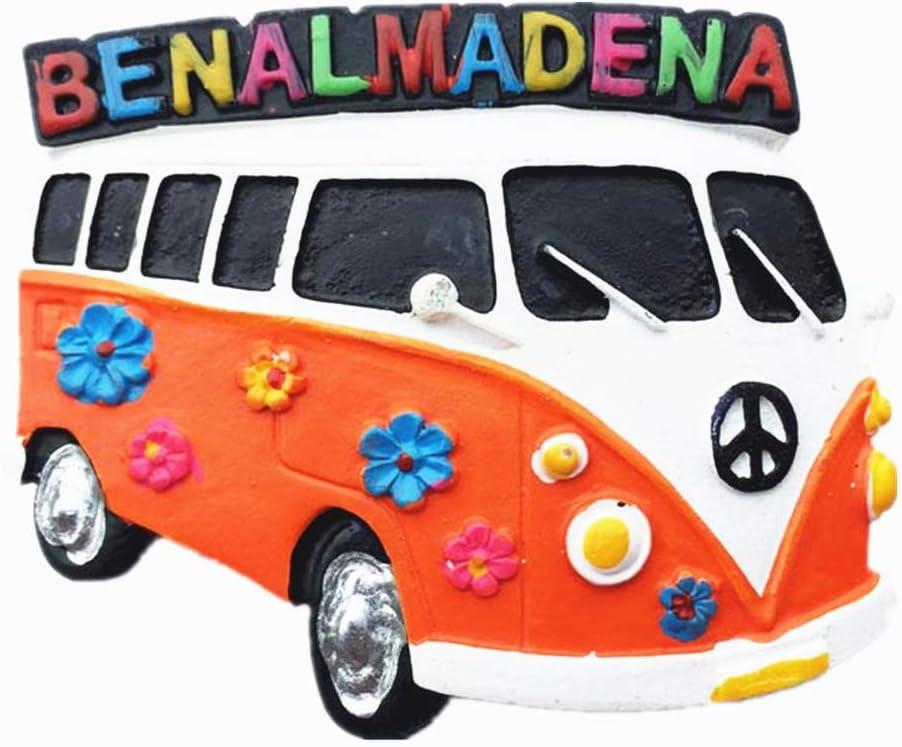 MUYU Magnet 3D Benalmadena España Souvenir Sector imán de Nevera Recuerdo Adhesivo magnético, hogar y Cocina decoración Benalmadena España Nevera imán Adhesivo magnético: Amazon.es: Hogar