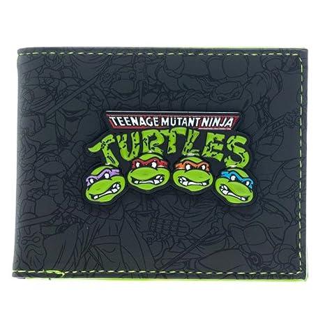 Monedero Ninja Turtles Grupo Bi-Fold | Niños TMNT Carácter ...