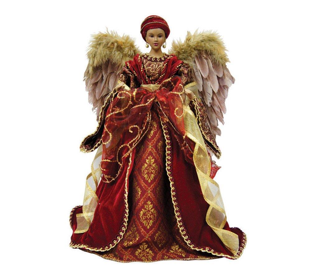 Santa's Workshop 3078 Aa Diva Angel Tree Topper, 16'' ,,