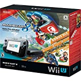 Nintendo Wii U Console Mario Kart 8 Deluxe Set with 32 GB Storage - Black
