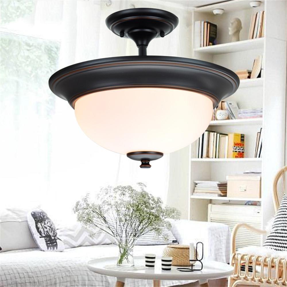 American Continental Semi-Decke Lampe Schlafzimmer Licht Studie Lampe Balkon Aisle Lights ausschalten die Lichter Korridor Lichter