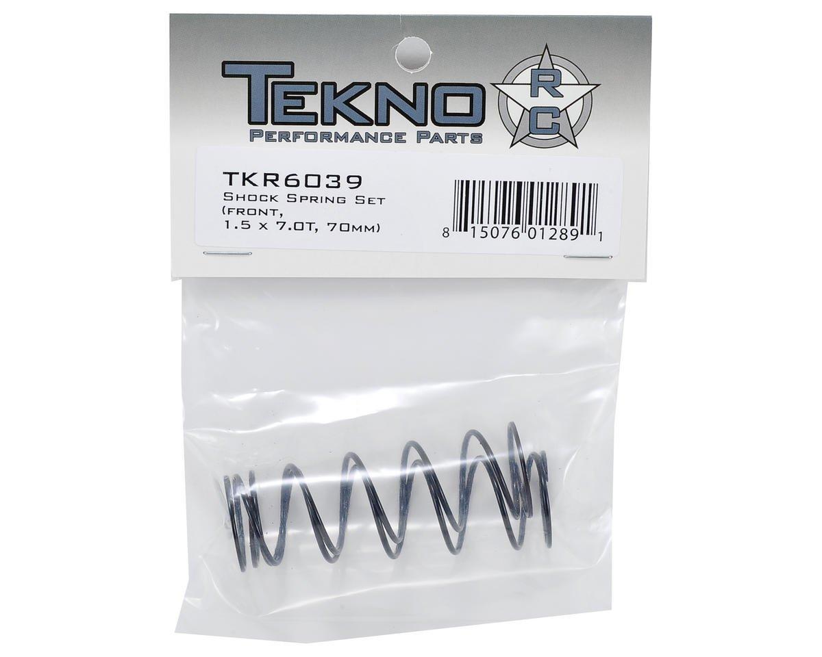TKR6039 Front 1.5 X 7.0T 70mm Tekno RC Shock Spring Set