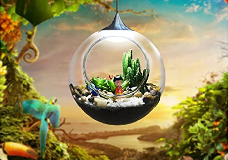 Mini Led Kronleuchter ~ Jingzou micro landschaft pflanze licht den büro bar kreativ mini