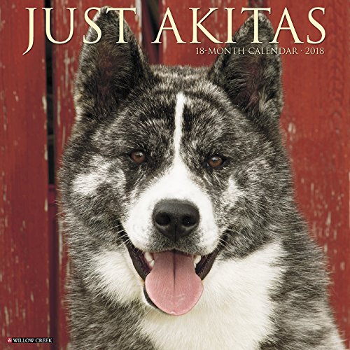 Akitas 2018 Wall Calendar (Dog Breed Calendar)