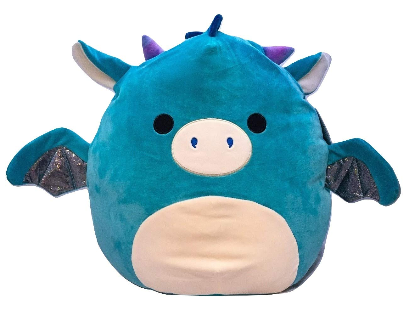 Squishmallow Kellytoy 16 Inch Tatiana The Blue Dragon - Super Soft Plush Toy Pillow Pet Animal Pillow Pal Buddy Stuffed Animal Birthday Gift Holiday by Squishmallow
