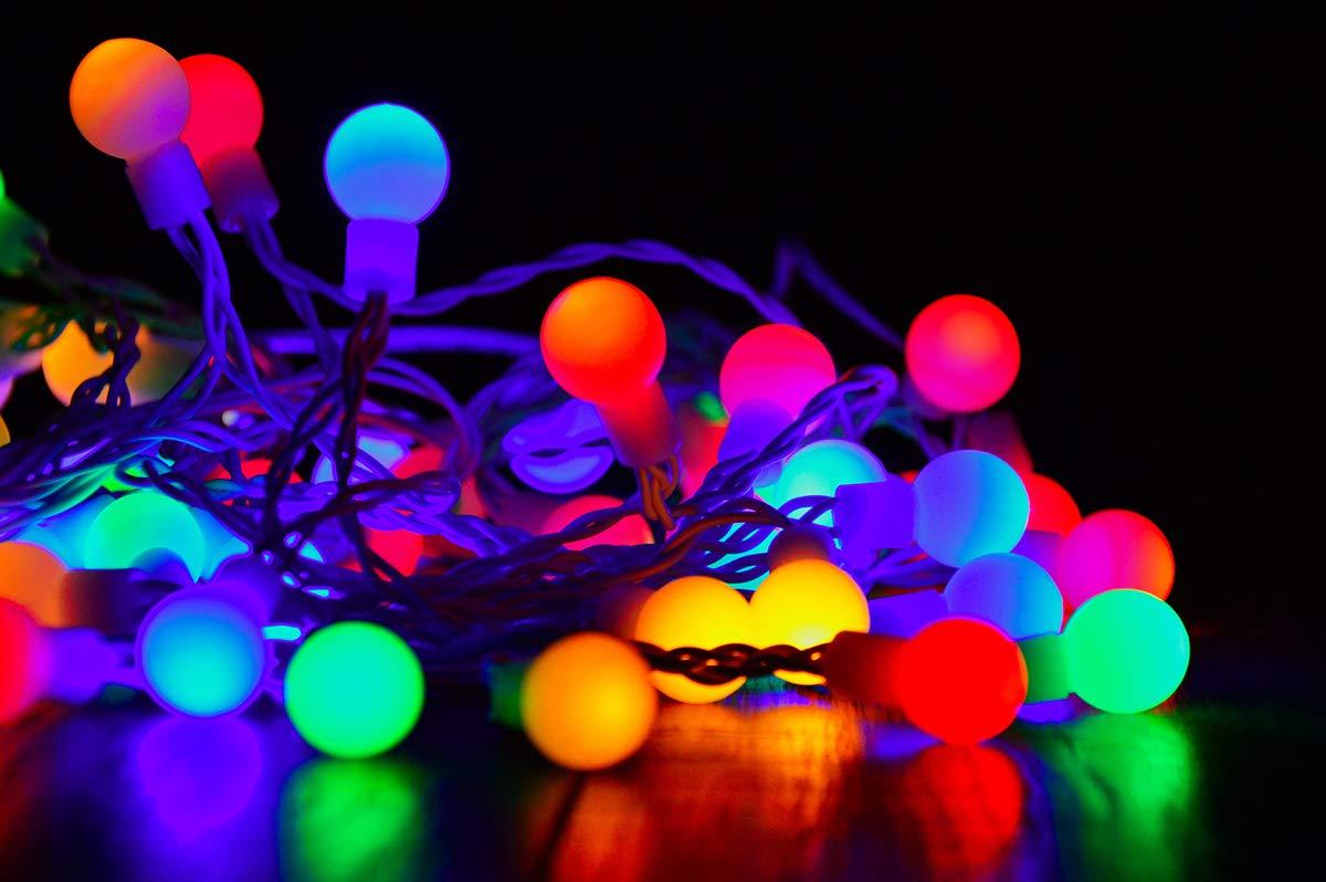 /équivalent 15W Paquet de 10 Ampoule /à DEL Feston 1,5 W Petites ampoules de No/ël BC Cap Ampoules /à ba/ïonnette B22 Ampoule /à /économie d/énergie jaune Golfball Longue dur/ée de vie 60 000 heures
