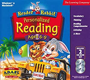 Amazon.com: Reader Rabbit Personalized Reading Ages 6-9 Deluxe