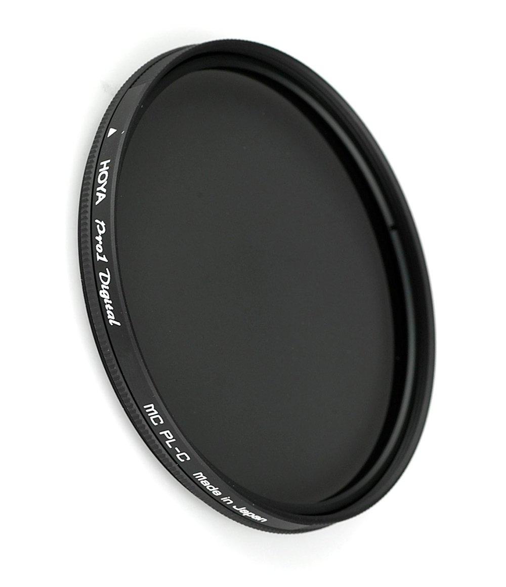 Hoya 52 mm digital-hmc Circular PolarizerフィルタwithブラックAlmiteフレーム   B01MF76HID