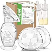 Haakaa Manual Breast Pump & Ladybug Breast Milk Collector & Colostrum Collector Set (100ml/4oz with Base)