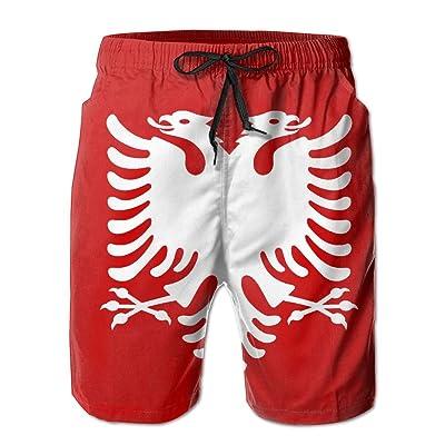 107cc0ab8a Albanian Eagle Mens Summer Boardshorts Casual Swim Short