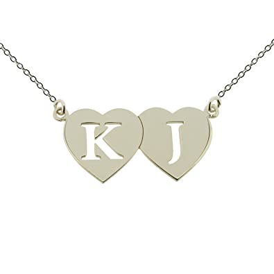 Personalised With Your Engraving 0.925 Sterling Silver Heart Pendant Necklace and 1.2mm Curb Chain In Presentation Gift Box j9FdX5
