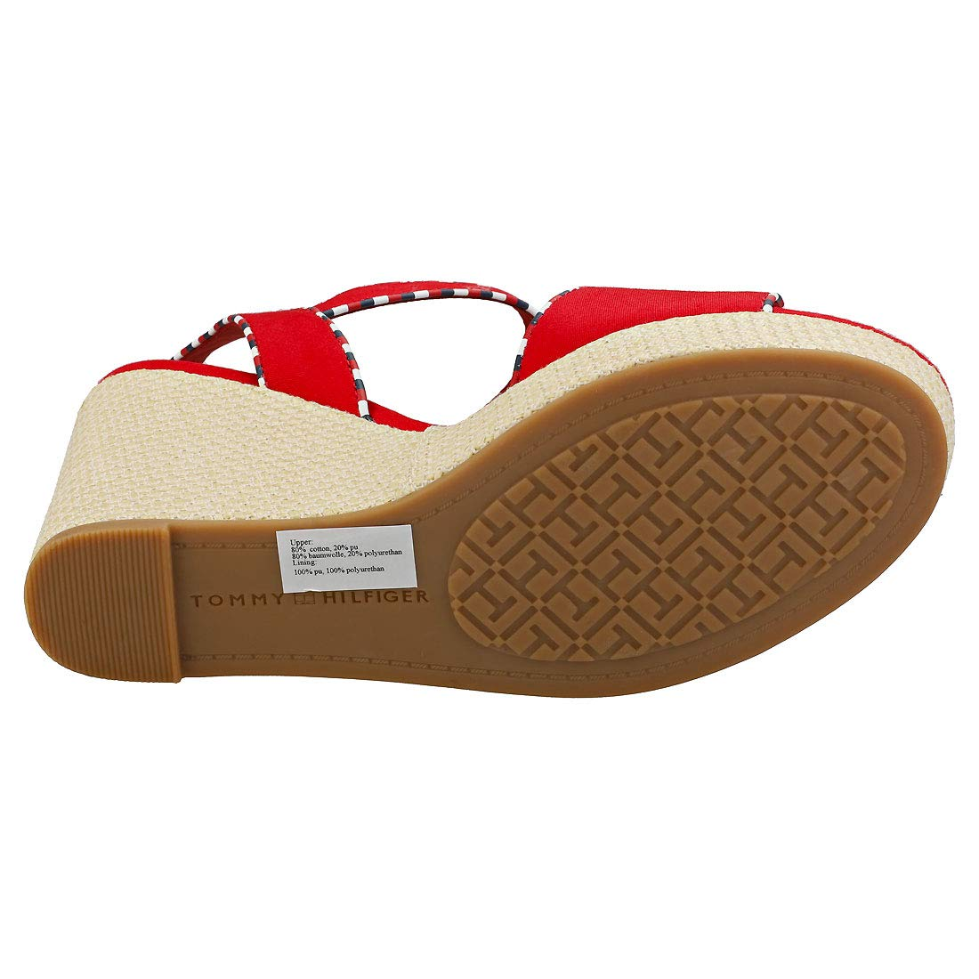 Tommy Hilfiger Corporate Detail High Femme Sandales Coin
