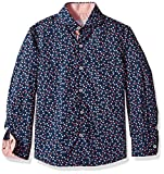 Isaac Mizrahi Little Boys' Dotted Cotton Shirt, Multi, 7