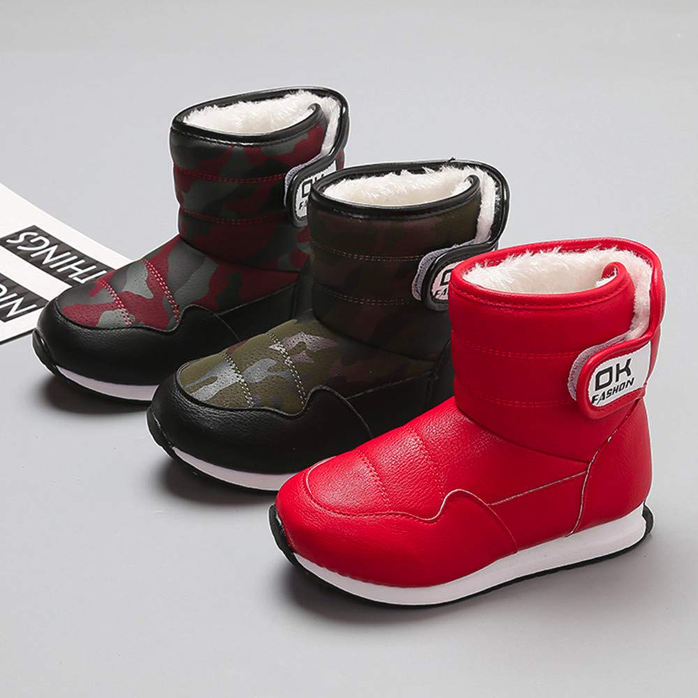 e932dd9fa2709 Gooldu Baby Toddler Girls Boys Fall Winter Warm Shoes Martin Snow ...