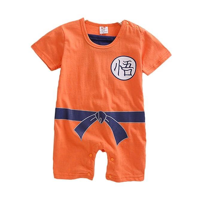 f81089cf5056 DBZ Dragon Ball Z Goku-inspired Infant Outfit  Amazon.co.uk  Clothing