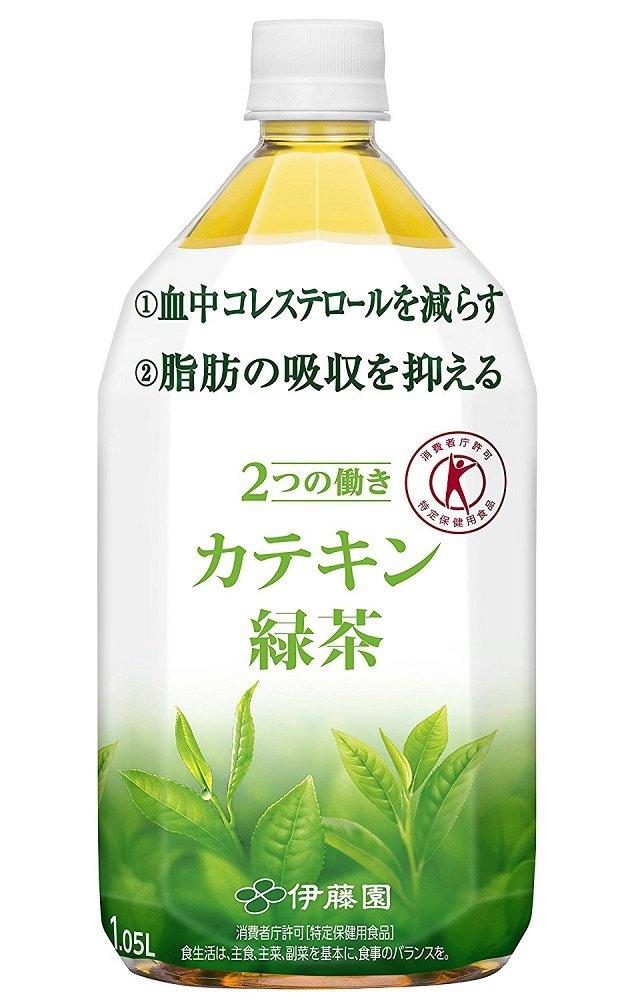 「体脂肪」「コレステロール」が気になる方向けのカテキンシリーズ (カテキン緑茶, 1.05L×24本) B077LGW9BL 1.05L×24本|カテキン緑茶  1.05L×24本