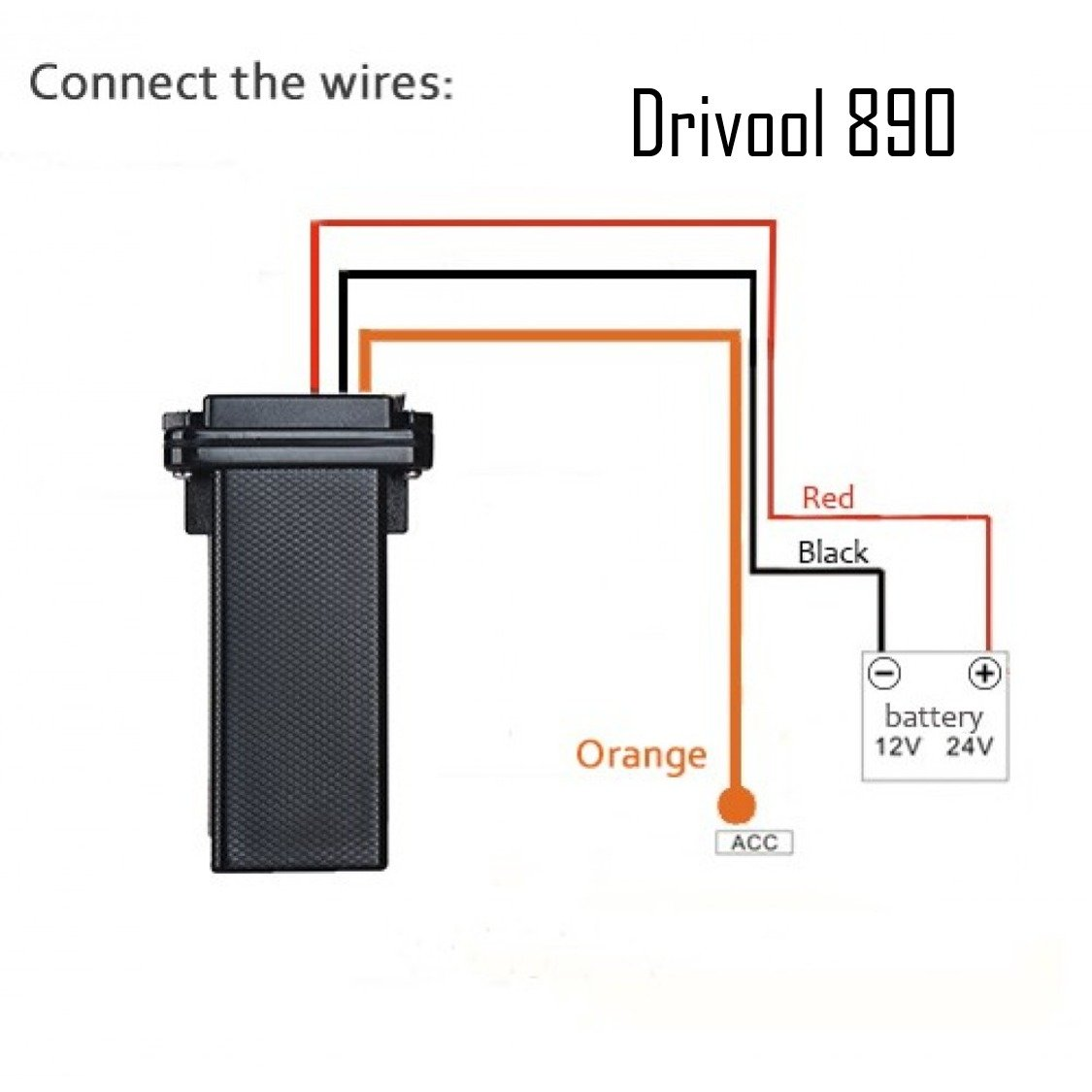 Drivool Gps Tracker Mini Waterproof Real Time Locator Budget Wiring Diagram Electronics