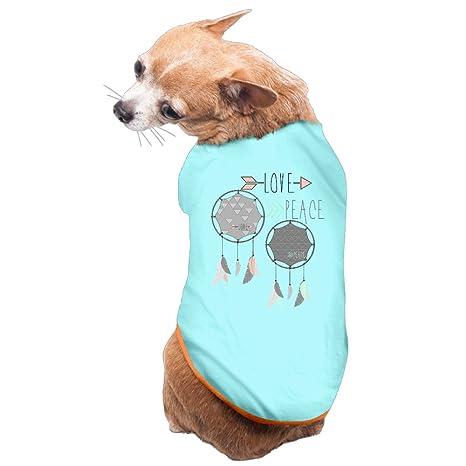 Plumas y Atrapasueños Pet Cool perros abrigos forro polar