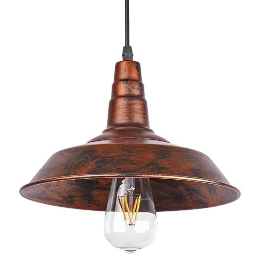 Sunsbell® Industrial Vintage Retro Loft pared de café de la barra de iluminación Luminaria Sconce colgante lámparas de techo lámparas de luz para las ...