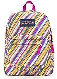 Jansport Superbreak Backpack (Multi Texture Stripe)