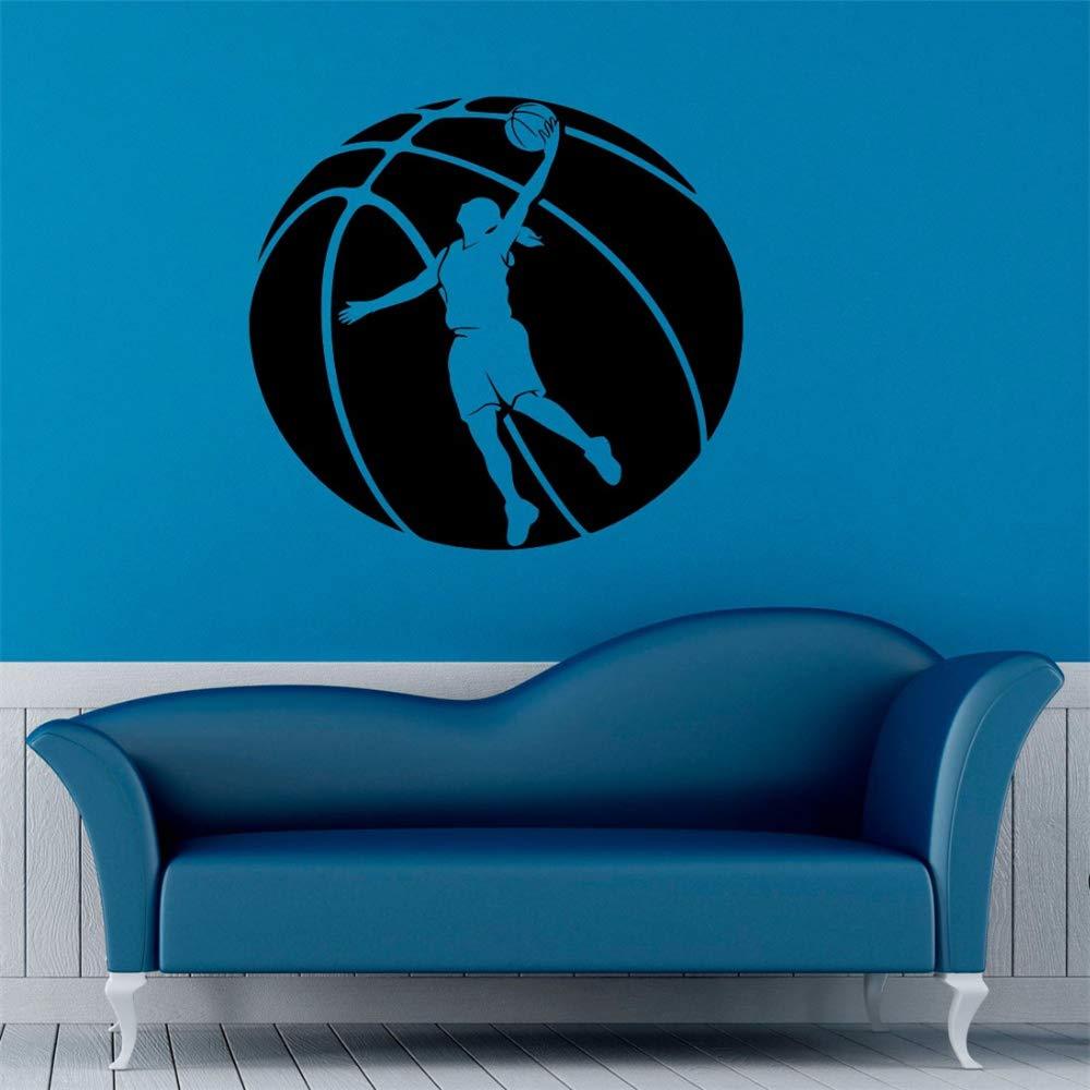 Art Home Decor Jugador de Baloncesto Sala Girs Vinilo Pegatina ...
