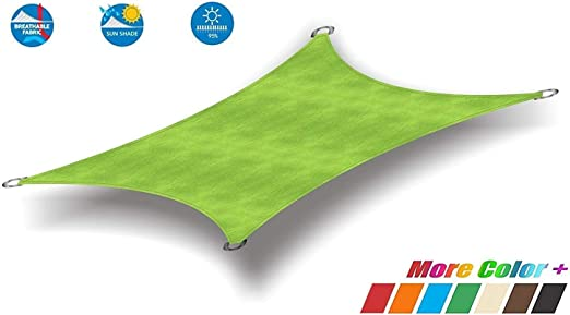 CAIJUN Velas De Sombra Al Aire Libre Rectángulo Impermeable Pérgola Toldo De Camping Portable, 3 Colores, 20 Tallas (Color : B, Size : 3x4m): Amazon.es: Hogar