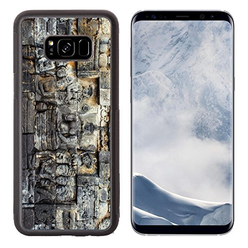 Luxlady Samsung Galaxy S8 Plus S8+ Aluminum Backplate Bumper Snap Case IMAGE ID: 25639760 ancient buddhist temple Borobudur is the biggest and most visited buddist temple in - Asian For Frames Best Faces