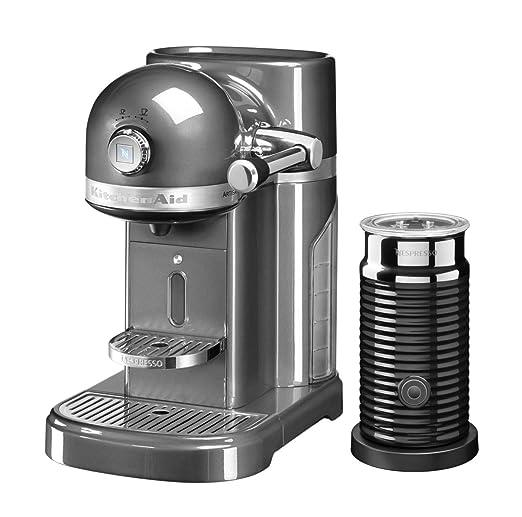 KitchenAid 5KES0504EMS Artisan - Máquina de café Nespresso y ...