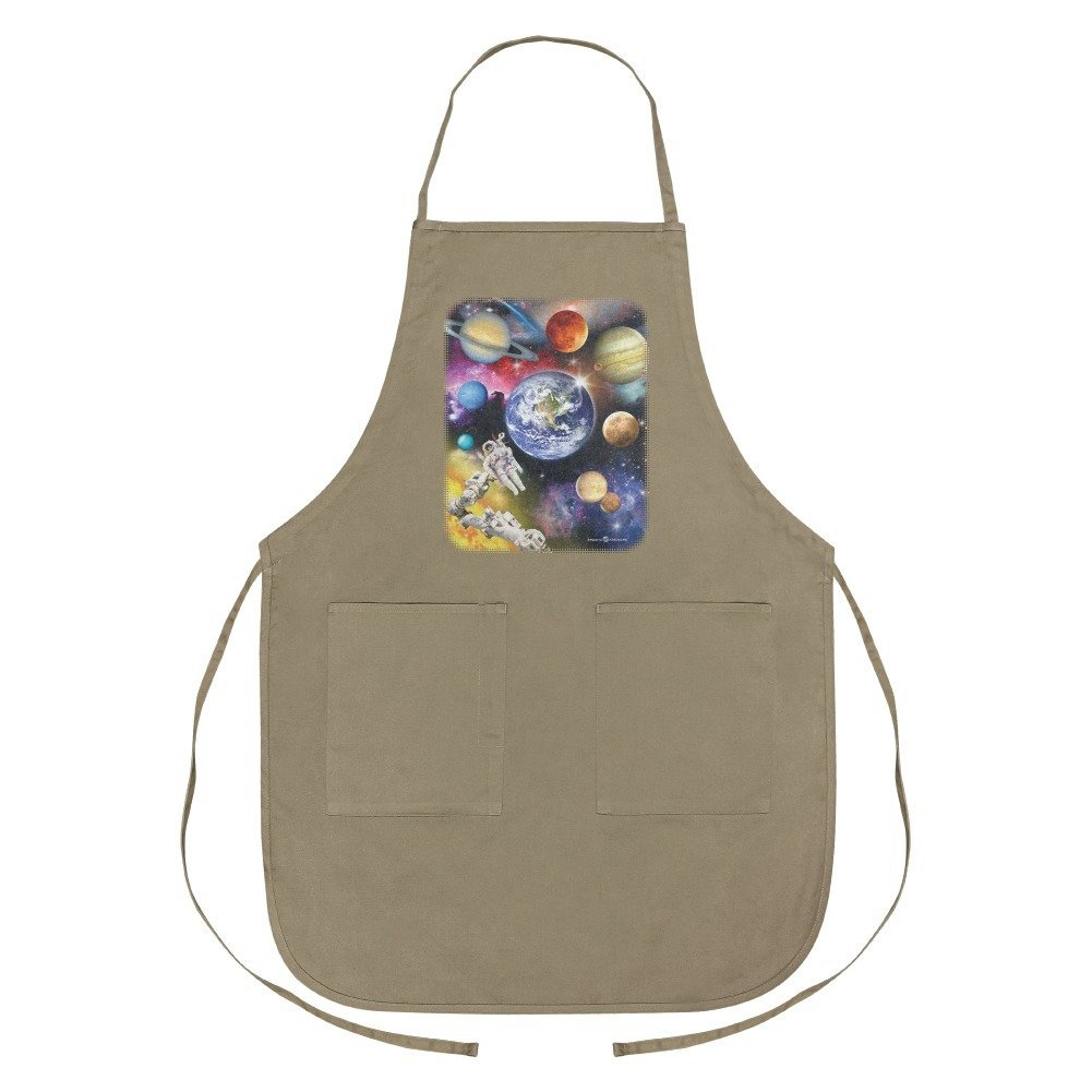 Graphics and More Solar System Planets Space Earth Saturn Jupiter Mars Apron with Pockets