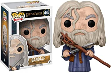 Funko 13550 POP! Vinilo Colección El señor de los anillos - Figura Gandalf: Amazon.es: Juguetes y juegos