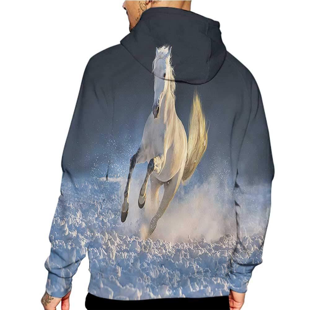 Hoodies Sweatshirt/Men 3D Print Henna,Vintage Style Doodle,Sweatshirts for Teens