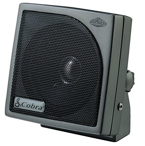 Cobra HG S100 - Dynamic External CB Speaker, Sound, Rugged Design